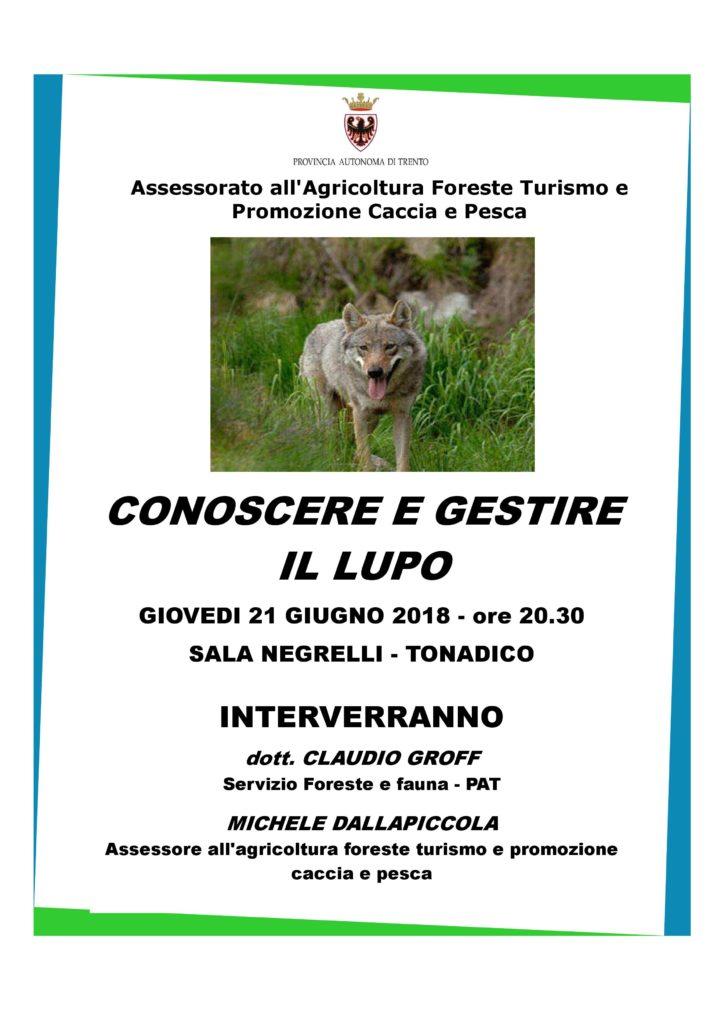 lupo in Trentino