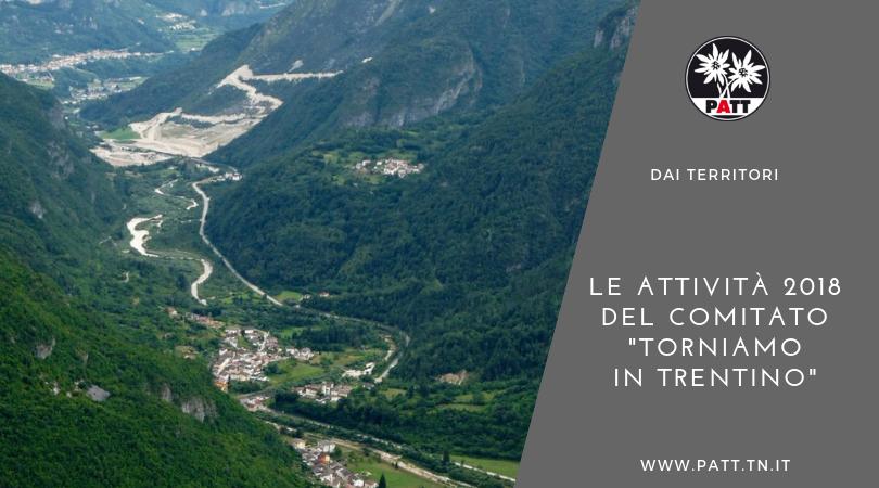Torniamo in Trentino