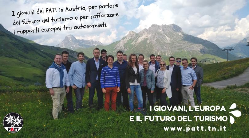 I giovani, l'Europa e futuro del turismo