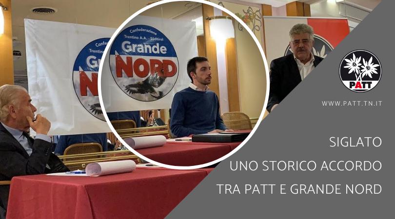 accordo tra PATT e Grande Nord
